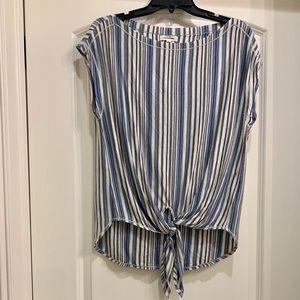 Max Studio Striped Shirt